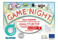 Ohjaamo Game Night
