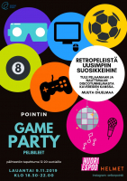 Game party! -pelibileet